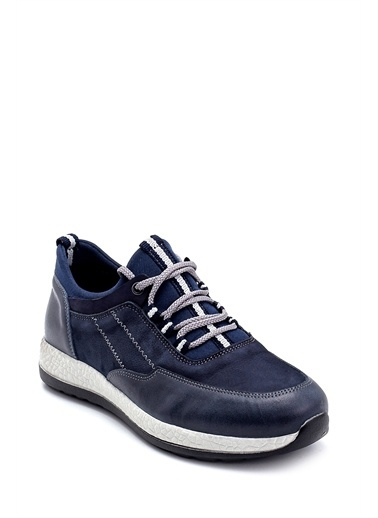 Derimod Erkek Ayakkabı(2217-2) Sneaker Lacivert